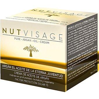 NUTVISAGE Crema antiarrugas de aceite de argán Envase 50 ml