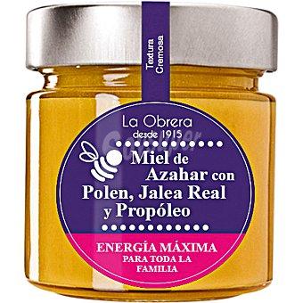 La obrera del colmenar Miel de azahar con polen jalea y propóleo Tarro 300 g