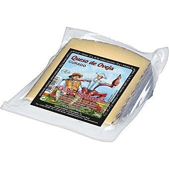 Don ismael Queso curado de oveja elaborado con leche pasteurizada cuña 250 g