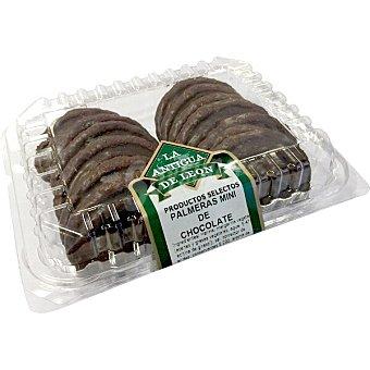 La Antigua de León Palmeritas de chocolate selectas envase 270 g