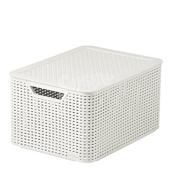 CURVER Style Caja 30 l - Blanca 1 ud