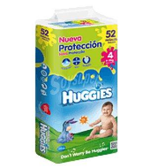 Huggies Pañal Mono Talla 4 (9-15kg) 52 ud