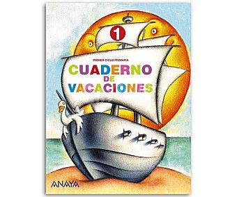 ANAYA Cuaderno Vacaciones 1º 1 Unidad