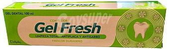 Deliplus Dentifrico gel fresh antiplaca y antisarro Tubo 100 cc