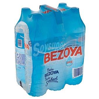 Bezoya Agua mineral natural de mineralización muy débil Pack 6 x 1,5l