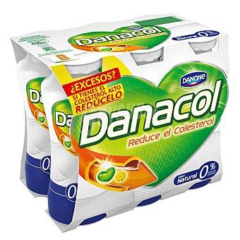 Danacol Danone Yogur líquido natural  Pack 6 x 100 ml