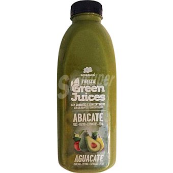 SONATURAL Zumo de aguacate Botella 750 ml