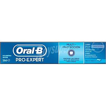 ORAL B Pro-Expert Pasta de dientes Multi-Protección con flúor sabor menta fresca tubo 50 ml tubo 50 ml Tubo 50 ml