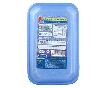 Auchan Lomos de bacalao desalado 350 gramos