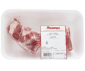 Espinazo fresco de cerdo blanco cortado en trozos 425.0 Aproximados