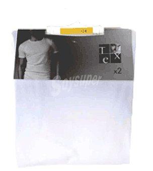 Tex Camisetas C/R M/C Pack 2 unidades
