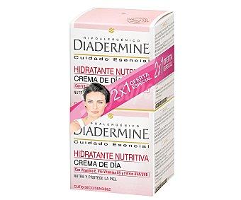 Diadermine Crema hidratante nutritiva de día (cutis seco/sensible) 50 mililitros