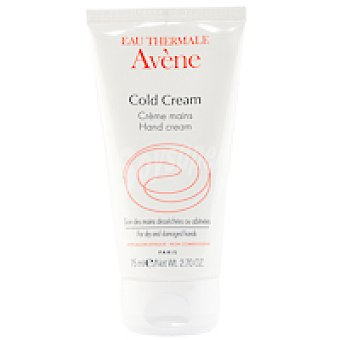 AVÉNE Duo crema de manos Cold Cream Tubo 75 ml