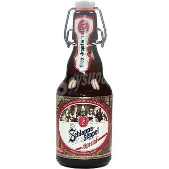 SCHLAPPE-SEPPEL Special cerveza rubia alemana botella 33 cl Botella 33 cl