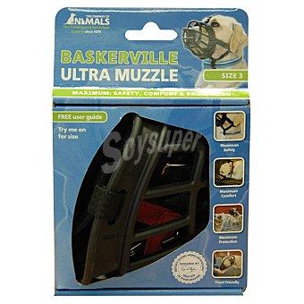 BASKERVILLE ULTRA MUZZLE Bozal para perro máxima protección talla 3 1 unidad