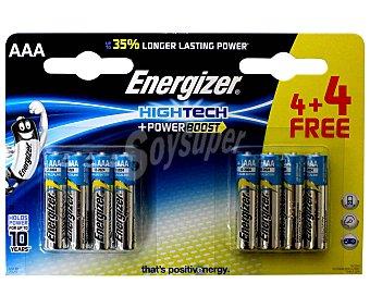 Energizer Pilas alcalinas aaa, LR03, High Tech 8 unidades