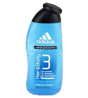 Adidas Gel masculino after sport para cabello y cuerpo 400 ml