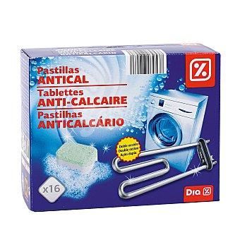 DIA Descalcificador de lavadora en pastillas caja 16 ud Pastillas 16 ud