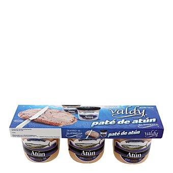 Valdycomer Paté de atún Pack de 3x110 g