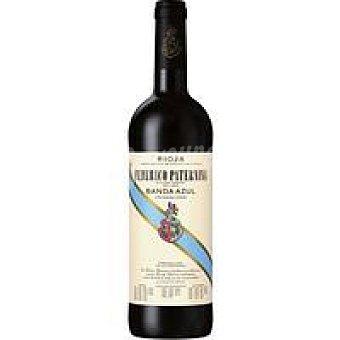Vino Tinto Crianza Rioja banda azul Botellín 37,5 cl