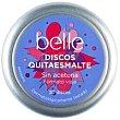 Discos quitaesmalte sin acetona Lata 30 unid Belle