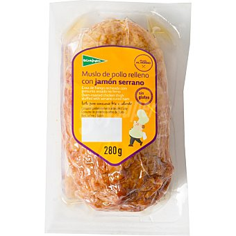 El Corte Inglés Muslo de pollo asado al horno relleno con jamón serrano pieza 280 g 280 g