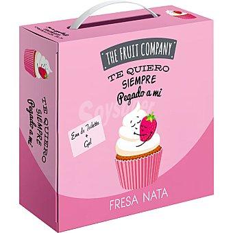 The fruit company Fresa Nata eau de toilette femenina + gel frasco 100 ml estuche 1 unidad te quiero siempre pegado a mí frasco 100 ml