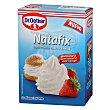 Preparado para montar nata fácilmente 3 sobres Natafix Estuche de 30 g Dr. Oetker