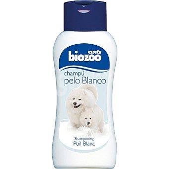 BIOZOO AXIS Champú para perros especial para pelo blanco Envase 250 ml