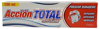 Deliplus Dentífrico pasta acción total Tubo 100cc
