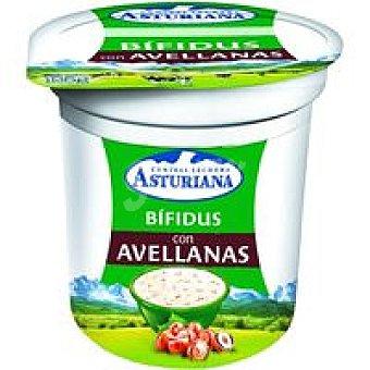 Central Lechera Asturiana Bífidus de avellana Tarro 125 g