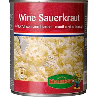 Krautboy choucrut al vino blanco lata 700 g neto escurrido
