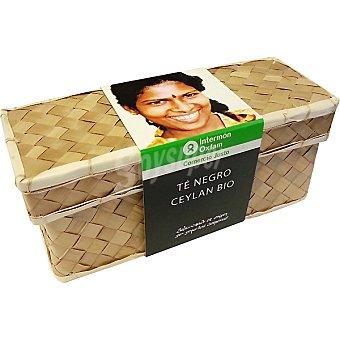 Intermón Oxfam Té Negro Ceylan Bio 40 g