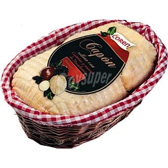 COREN capón relleno con castañas nueces y macadamia peso aproximado bandeja 2,5 kg