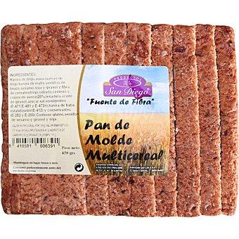 SAN DIEGO Pan de molde multicereal fuente de fibra Bolsa de 450 g