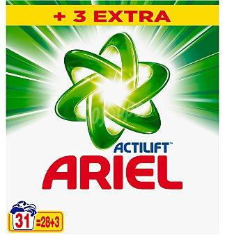 Ariel Detergente en polvo 31 cacitos
