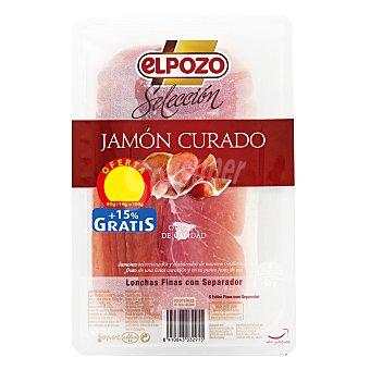 ElPozo Jamón curado selección loncha 90 g
