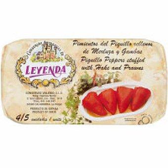 Leyenda Pimientos rellenos de merluza Bandeja 250 g