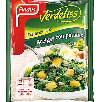 Findus Tradicionales acelgas con patatas Verdeliss Bolsa 450 g