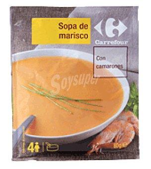 Carrefour Sopa de marisco con camarones 80 g