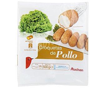 Auchan Croquetas ultracongeladas de pollo 500 g