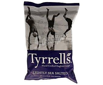 Tyrrells Patatas fritas lisas con un toque de sal marina 150