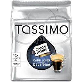 Tassimo Café Long Decafeine paquete 16 monodosis