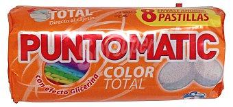 Puntomatic Detergente lavadora pastilla ropa color Paquete 280 g (8 pastillas)
