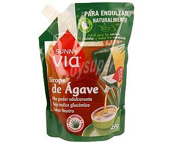 Sunny Via Sirope de ágave para endulzar naturalmente (ideal para la cocina los cócteles y todas tus necesidades) 450 gramos