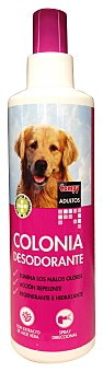 Compy Colonia perro desodorante vaporizador Botella 250 cc