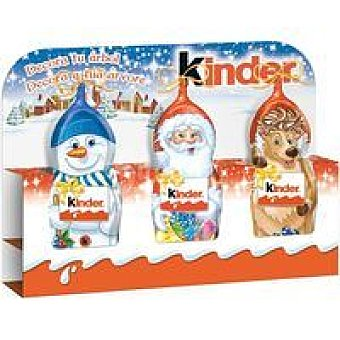 Kinder Muñeco de nieve Pack 3 unid