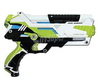 AQUA FORCE Pistola de agua con cartucho para el agua, permite hacer muchos disparos cortos 1 unidad