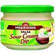 Salsa Sour Cream Frasco 240 g Mexifoods