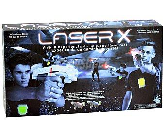 CIFE Láser X Juego Pistola Láser X, incluye 2 lanzadores X y 2 receptores, CIFE.